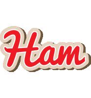 Ham chocolate logo