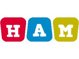 Ham daycare logo