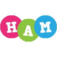 Ham friends logo