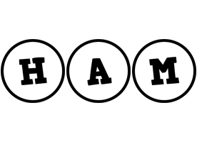 Ham handy logo