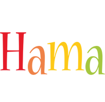 Hama birthday logo