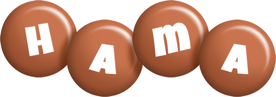 Hama candy-brown logo