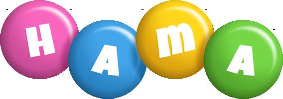 Hama candy logo