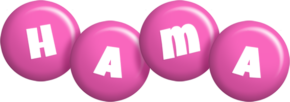 Hama candy-pink logo