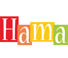 Hama colors logo