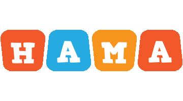 Hama comics logo