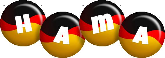 Hama german logo