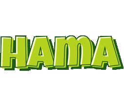 Hama summer logo