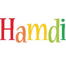 Hamdi birthday logo