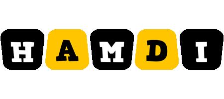 Hamdi boots logo