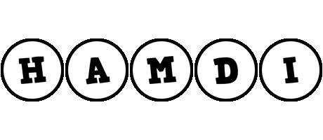 Hamdi handy logo