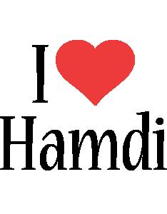 Hamdi i-love logo