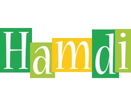 Hamdi lemonade logo