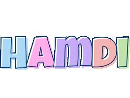 Hamdi pastel logo