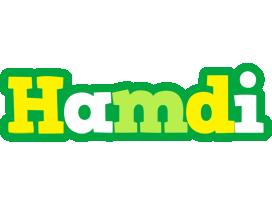 Hamdi soccer logo