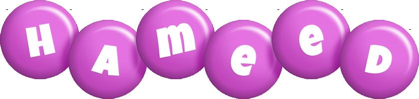 Hameed candy-purple logo