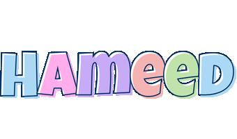 Hameed pastel logo
