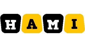 Hami boots logo