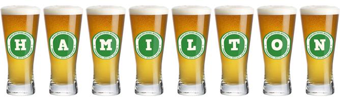Hamilton lager logo