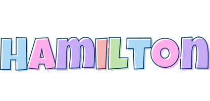 Hamilton pastel logo