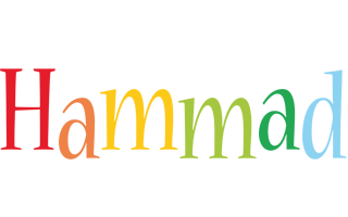 Hammad birthday logo
