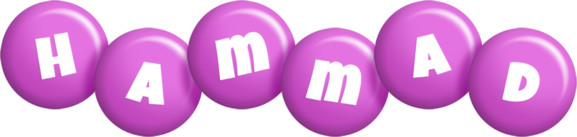Hammad candy-purple logo