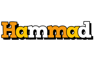 Hammad cartoon logo