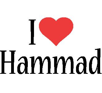 Hammad i-love logo