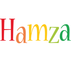 Hamza birthday logo