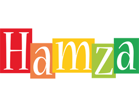 Hamza colors logo