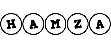 Hamza handy logo