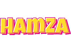 Hamza kaboom logo