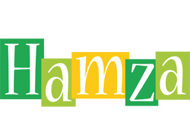 Hamza lemonade logo