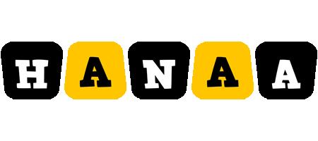 Hanaa boots logo