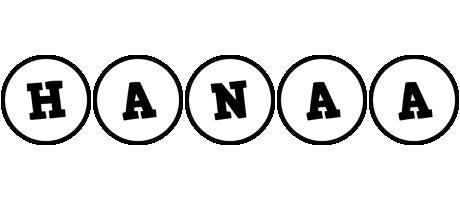 Hanaa handy logo