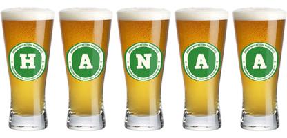 Hanaa lager logo