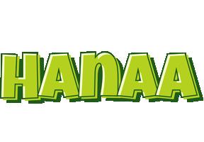 Hanaa summer logo
