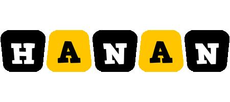 Hanan boots logo