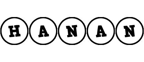 Hanan handy logo