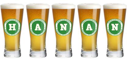 Hanan lager logo