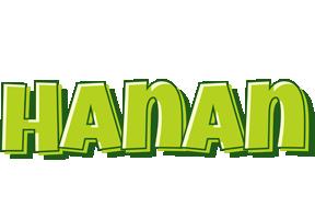 Hanan summer logo