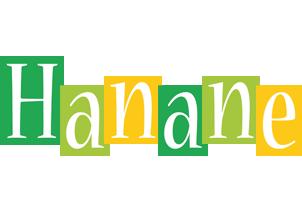 Hanane lemonade logo