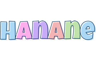 Hanane pastel logo