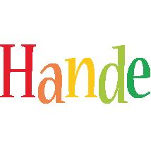 Hande birthday logo