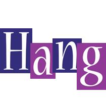 Hang autumn logo
