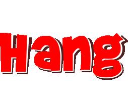 Hang basket logo