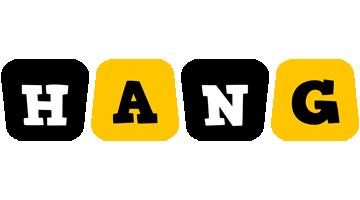 Hang boots logo