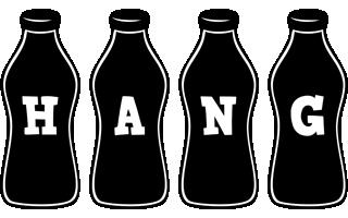 Hang bottle logo