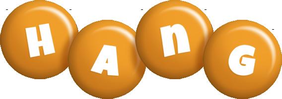 Hang candy-orange logo