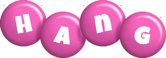 Hang candy-pink logo